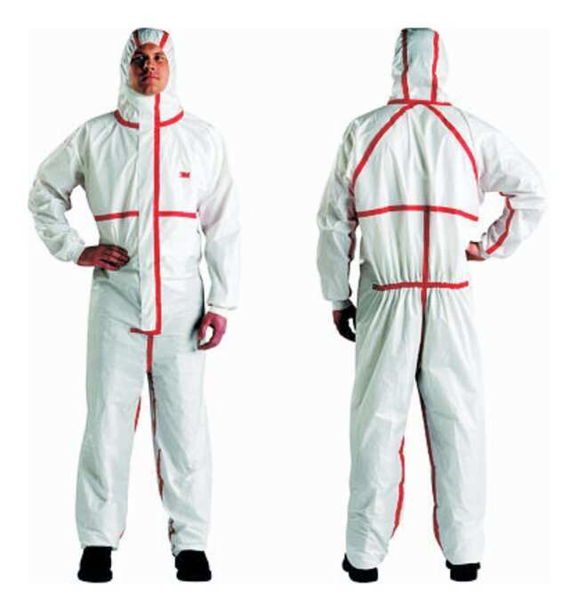 3M™4565 Series Disposable Protective Coveralls Size: 3X-Large 3M™4565 Series Disposable Protective Coveralls