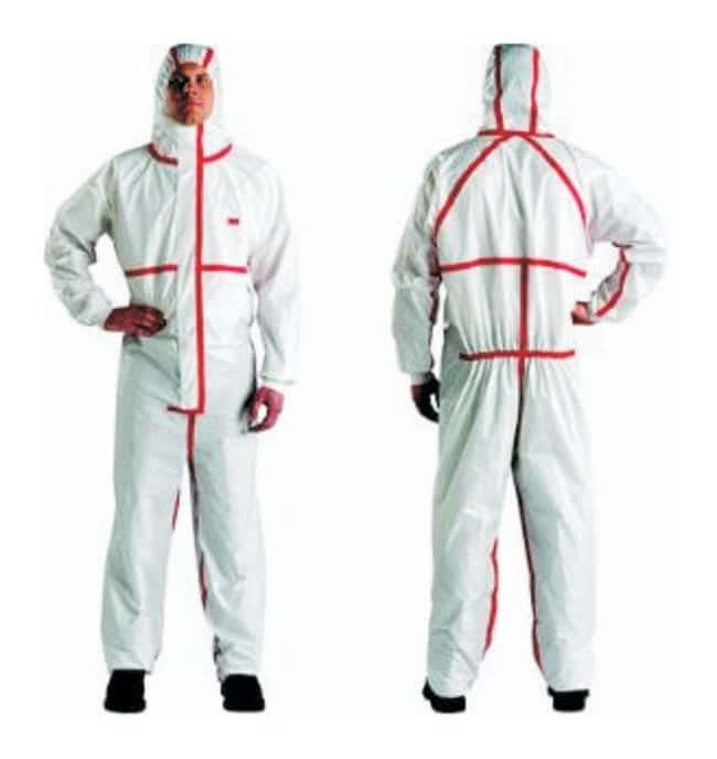 3M™ 4565 Series Disposable Protective Coveralls Size: Medium 3M™ 4565 Series Disposable Protective Coveralls