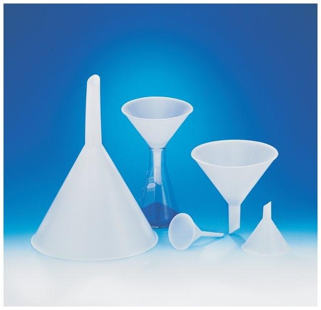 Bel-ArtSP Scienceware Polypropylene Funnels with Short Stems and External