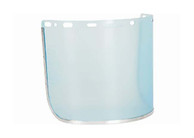 MCR SafetyHeadgear and Face Shields Aluminum bound; 8 x 15.5 in.:Personal