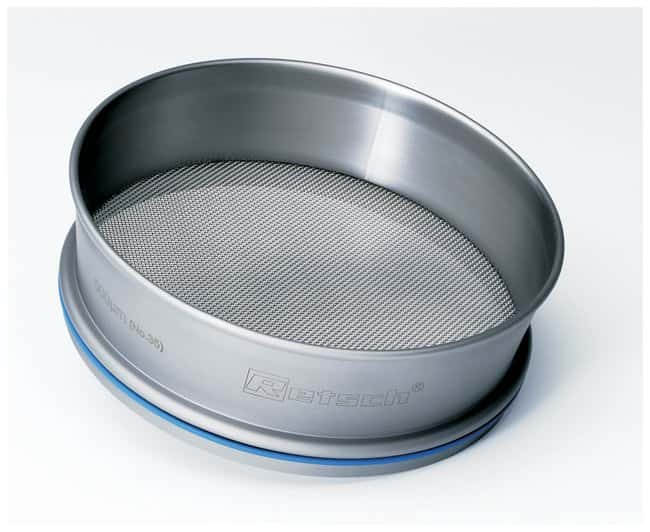 RETSCH Test Sieves - 14 Mesh or Greater Apertura nominal de 20 μm; estándar de EE. UU. N.º 635 RETSCH Test Sieves - 14 Mesh or Greater