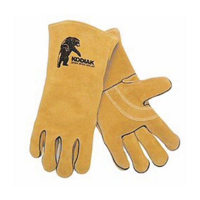 MCR Safety Kodiak Welder Gloves Reinforced palm; Yellow; X-Large:Gloves,