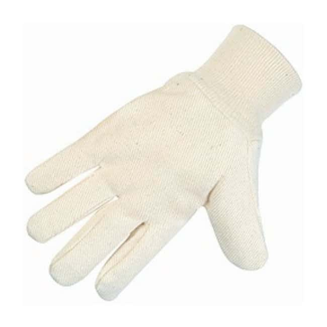 MCR Safety Cotton Canvas Gloves White:Gloves, Glasses and Safety