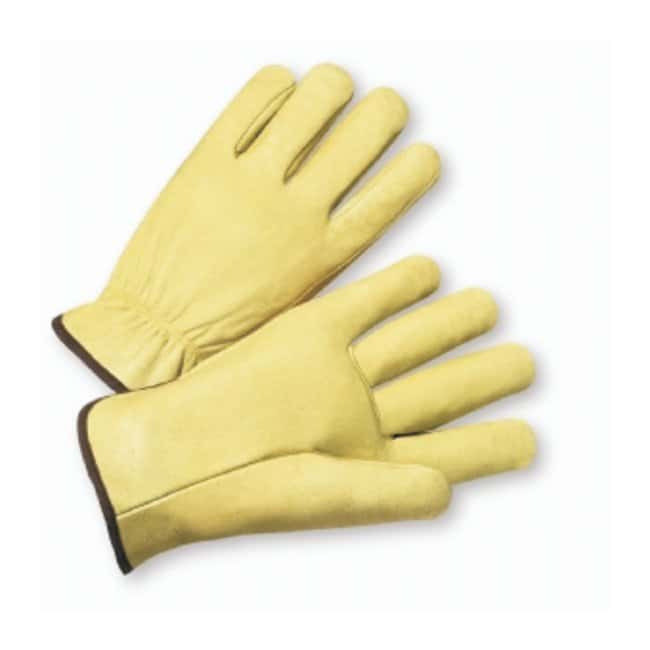 West Chester Select Grain Pigskin Leather Driver Gloves Size: medium:Gloves,