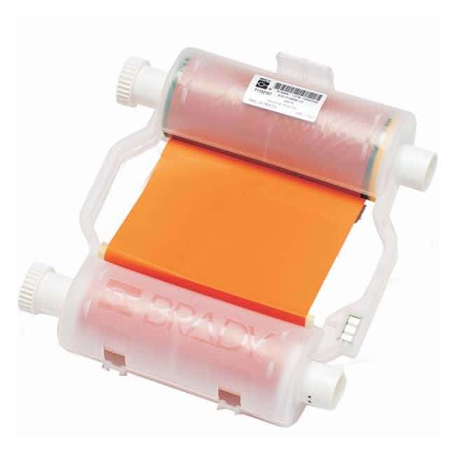 Brady BBP Heavy-Duty Print Ribbon Orange; BBP31 Printer; 4.33 in. x 200