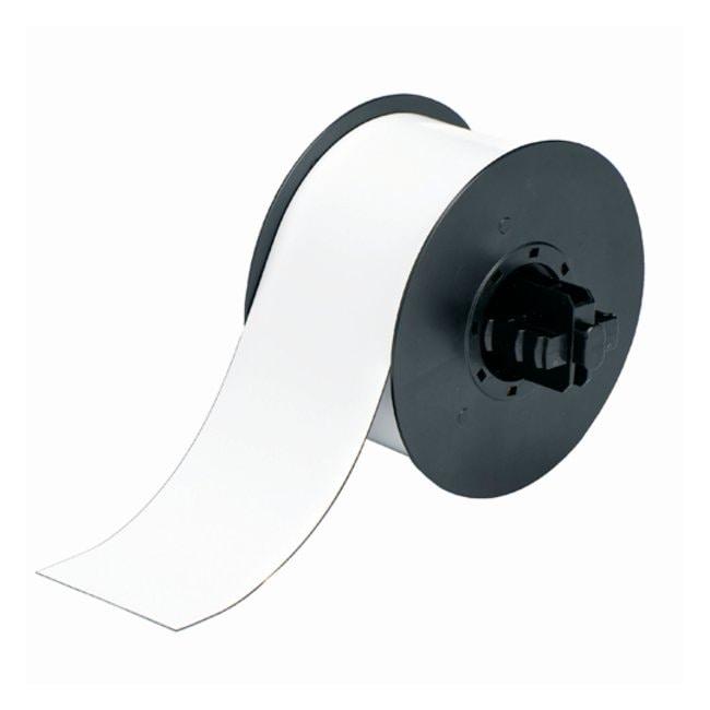 Brady™Rouleau magnétique imprimable BBP™ Blanc; 6,35cmx7,62m (2,5pox25pi) Brady™Rouleau magnétique imprimable BBP™
