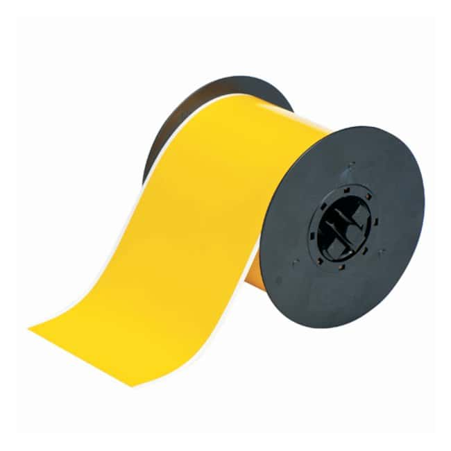 Brady™ BBP™ Indoor/Outdoor Vinyl Tape 4 in. wide; Yellow Brady™ BBP™ Indoor/Outdoor Vinyl Tape