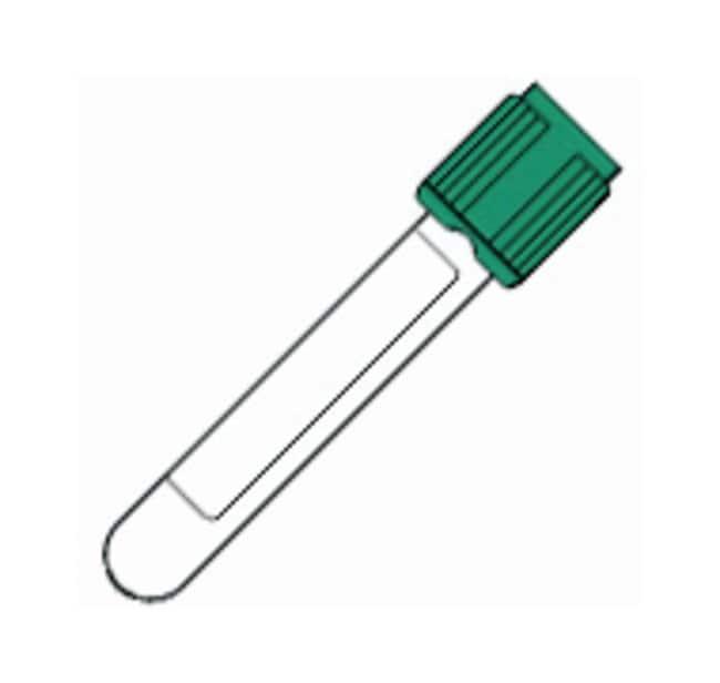 BDVacutainer Plastic Blood Collection Tubes with Lithium Heparin: Hemogard:Blood,
