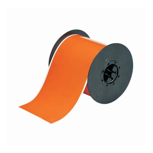 Brady™BBP™ Hi-Performance Polyester Tape Orange; 4 in. x 100 ft. Brady™BBP™ Hi-Performance Polyester Tape