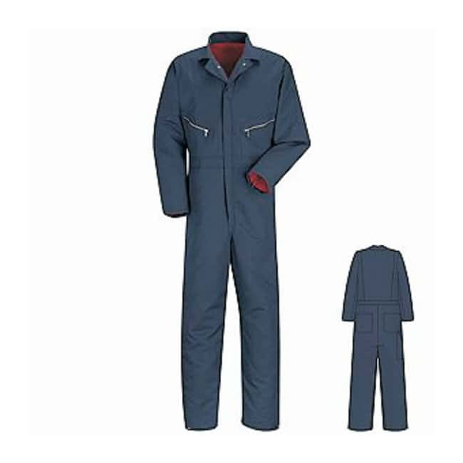 VF Workwear Red Kap Insulated Twill Coveralls Medium:Gloves, Glasses and