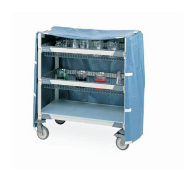 Metro™Lab Cart Accessory, Vinyl Cover Blue vinyl; Tall; 36 x 18 x 5.2 in. (91.4 x 45.7 x 13.2cm) (L x W x H) Metro™Lab Cart Accessory, Vinyl Cover