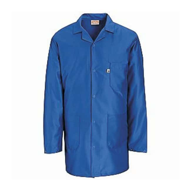 VF Workwear ESD Lab Jackets Color: electronic blue; Size: X-Large:Gloves,