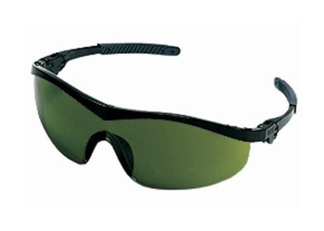 MCR Safety StormSafety Glasses Nylon black frame; Green 3.0 lens:Gloves,