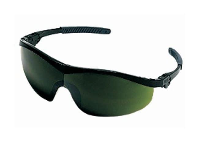 MCR Safety StormSafety Glasses Nylon black frame; Green 5.0 lens:Gloves,