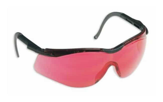 Honeywell North Safety N-Vision Safety Glasses Vermilion lens; Black, gray