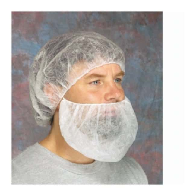 West Chester Polypropylene Disposable Beard Covers 1000/CS:Testing and