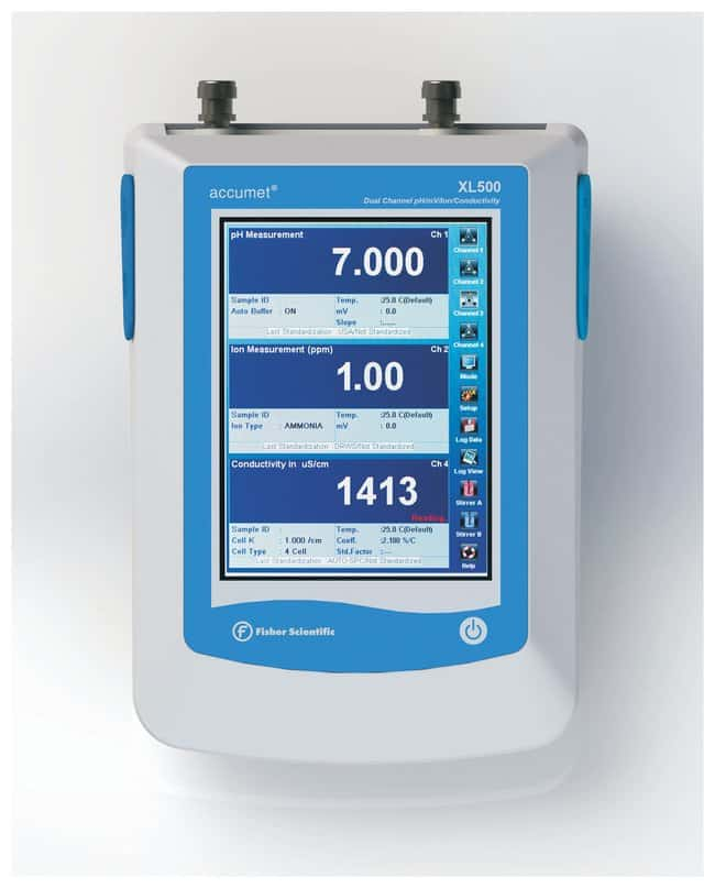 Fisherbrand™accumet™ XL500 Dual pH/ISE and Conductivity Benchtop Meters,