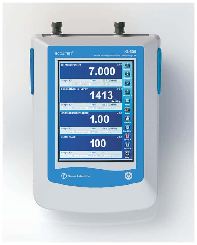 Fisherbrand accumet XL600 Dual pH/ISE, Conductivity and Dissolved Oxygen