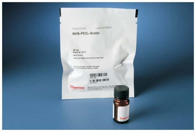 Thermo Scientific&trade;&nbsp;Biotina de NHS-PEG<sub>4</sub> y kits de etiquetado EZ-Link&trade; 25mg Thermo Scientific&trade;&nbsp;Biotina de NHS-PEG<sub>4</sub> y kits de etiquetado EZ-Link&trade;