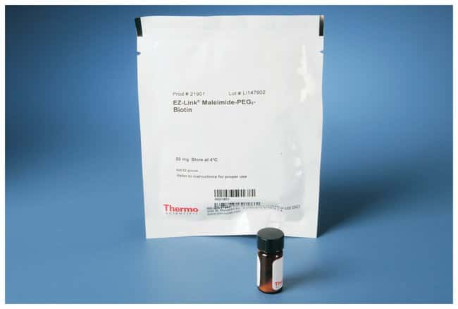 Thermo Scientific EZ-Link Maleimide-PEG2-Biotin, No-Weigh Format:Life Sciences:Protein