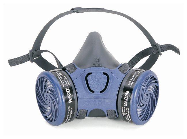 Moldex Organic Vapor Assembled Respirator Medium:Gloves, Glasses and Safety