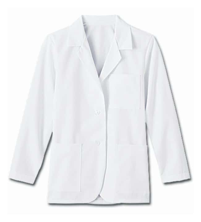 White Swan fundamentals Ladies' Consultation Coats White; Large:Gloves,