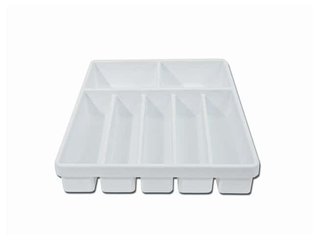 Spectrum™ Spectrum™ Drawer/Ganizer™ Portable Organizer Trays Micropipets; w/5 (27 x 6cm) and 2 (16 x 14cm) compartments; Small; 34 x 44 x 7cm Products