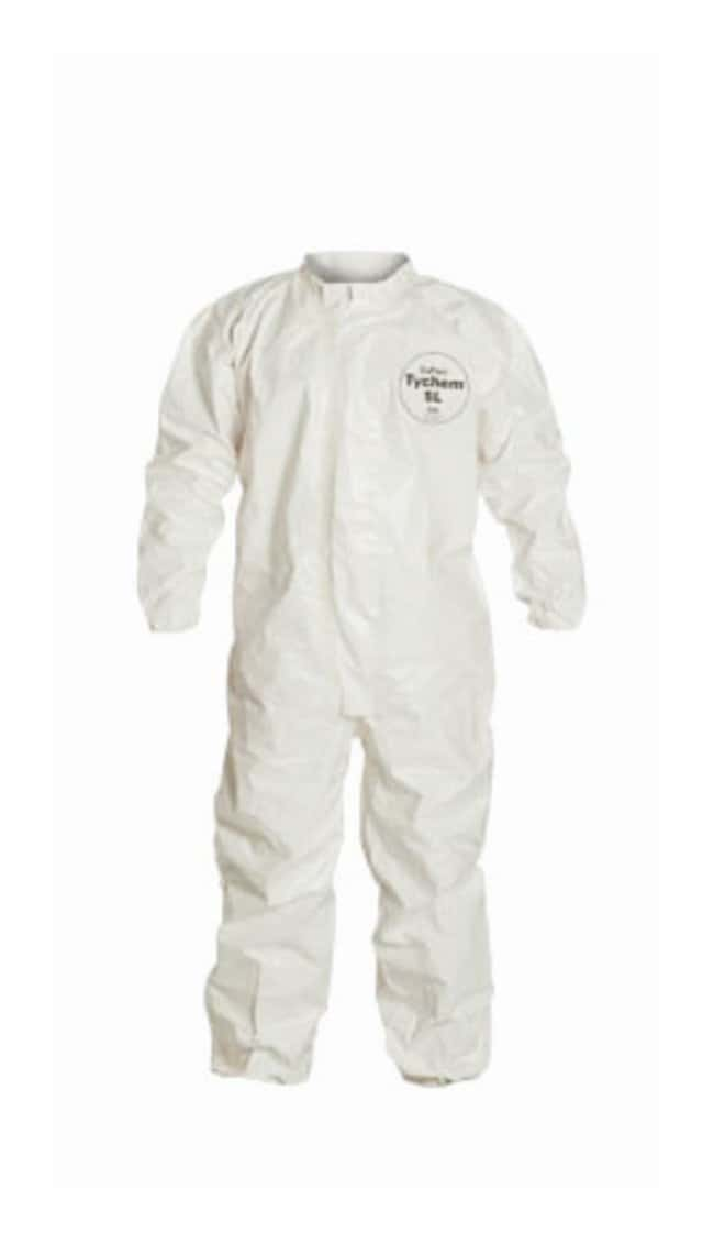 DuPontTychem SL Coveralls White; X-Large:Personal Protective Equipment