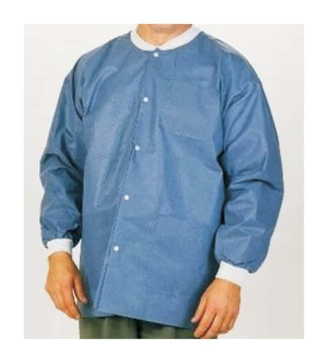 ValueMax Extra-Safe Lab Jackets  Blueberry:Gloves, Glasses and Safety:Lab