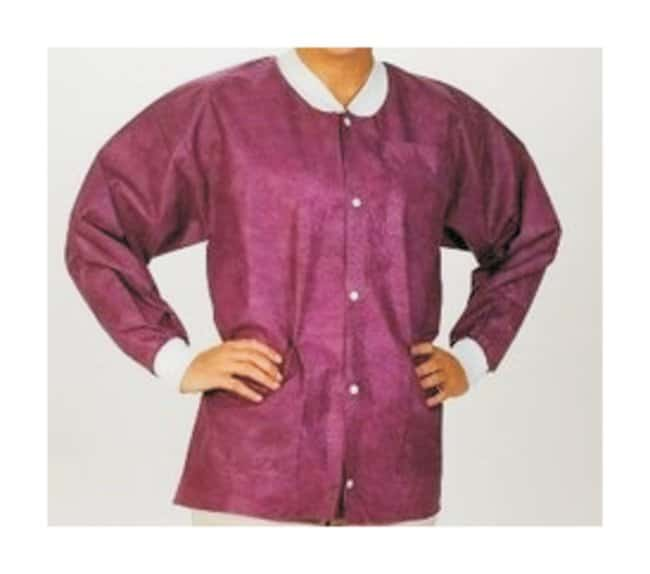 ValueMax Extra-Safe Lab Jackets  Cranberry:Gloves, Glasses and Safety:Lab