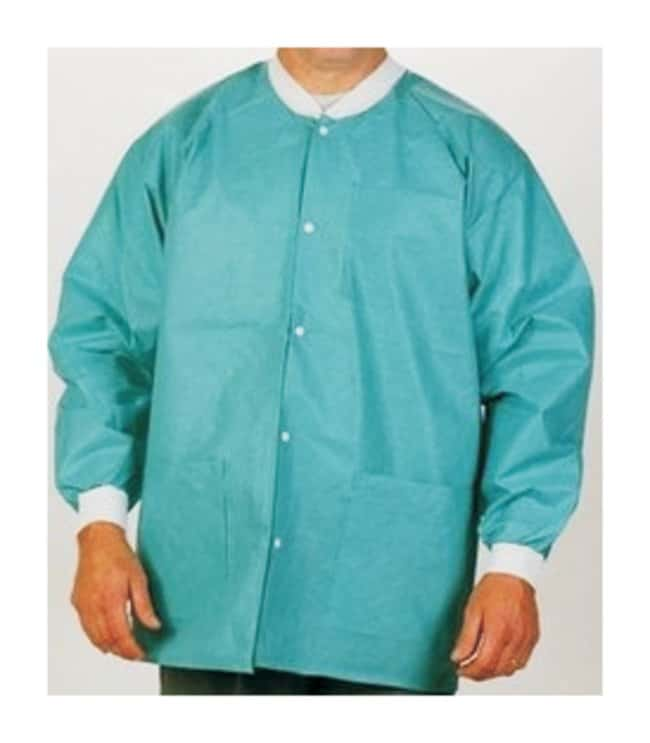 Apex Aseptic Extra-Safe Lab Jackets  Teal Size: 3X-Large:Gloves, Glasses