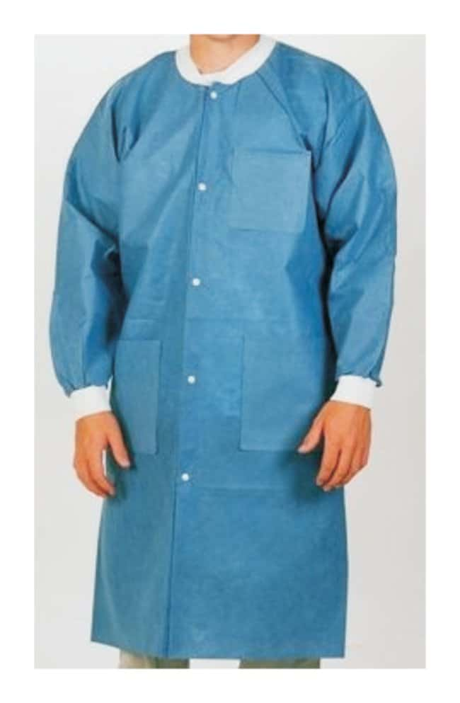 Apex Aseptic Extra-Safe Lab Coats  Ceil Blue  Size: 2X-Large:Gloves, Glasses
