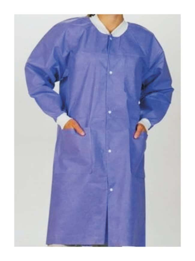 ValueMax Extra-Safe Lab Coats  Purple:Gloves, Glasses and Safety:Lab Coats,