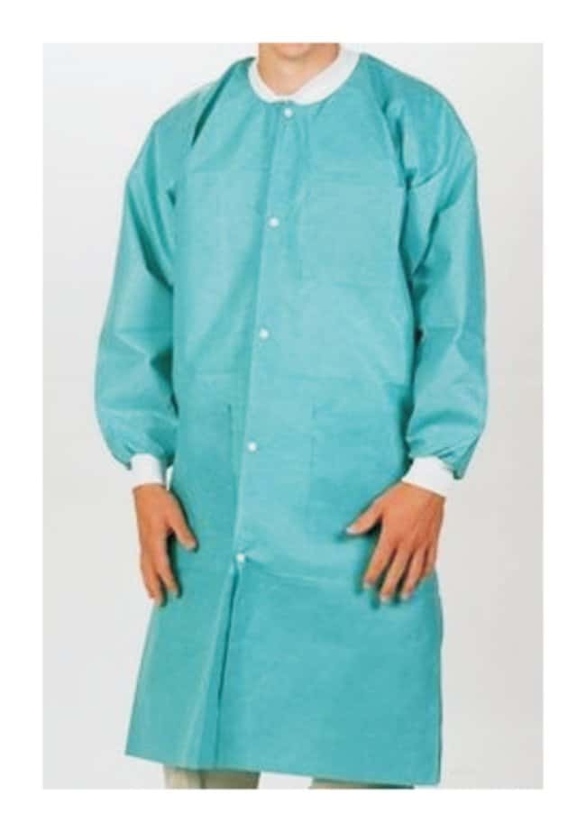 ValueMax Extra-Safe Lab Coats  Teal:Gloves, Glasses and Safety:Lab Coats,
