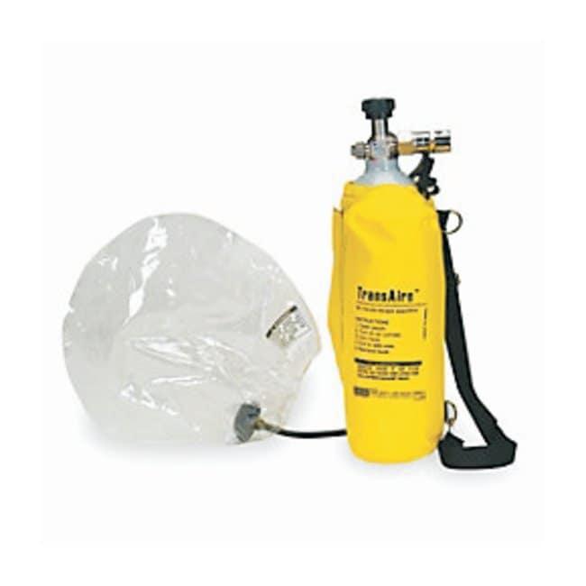 MSA TransAire 5 and 10 Escape Respirators TransAire 10 Escape Respirator:Gloves,