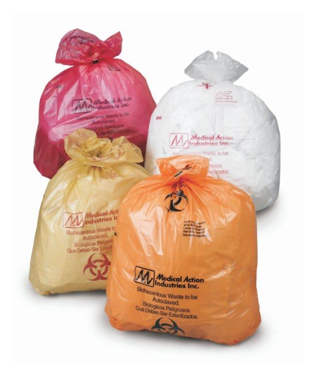 MedegenBiohazardous Waste Bags, Autoclavable