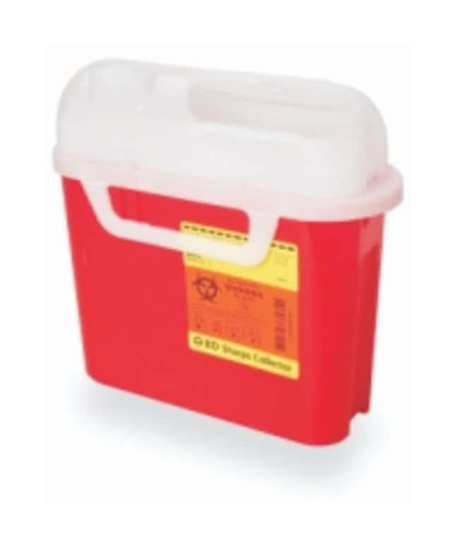 BDPatient/Exam Room Sharps Collectors Red; 5.4 qt.:First Aid and Medical