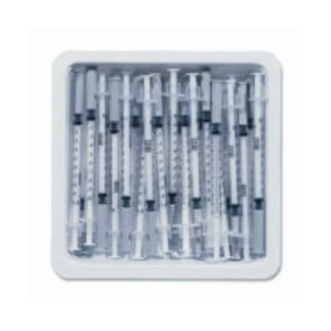 BD Allergist Trays with Permanently Attached Needle:Gloves, Glasses and