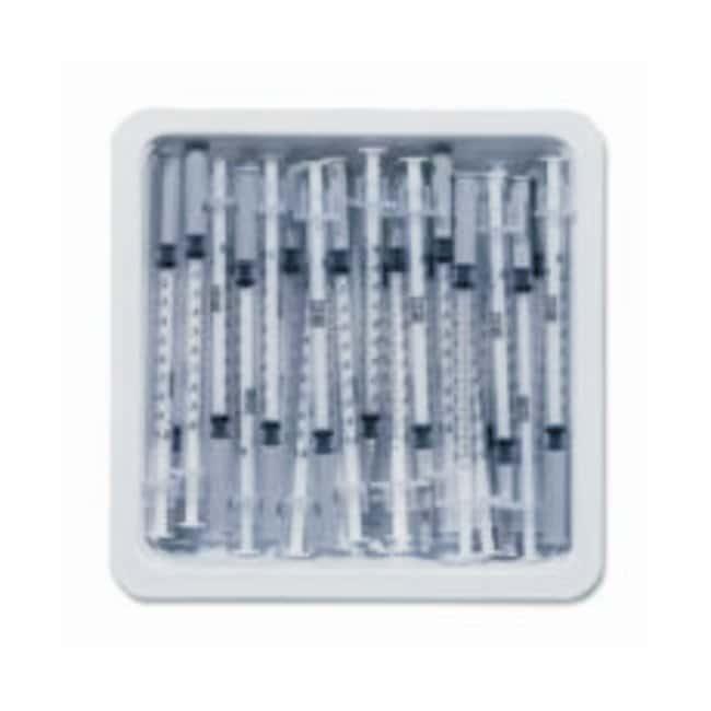 BDVacutainer Allergist Syringe Tray 27 G x 3/8 in. Regular Bevel:First