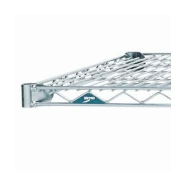 Metro™Super Erecta™ Chrome Wire Shelf, Brite Finish: Planken Onderhoud en veiligheid van het gebouw