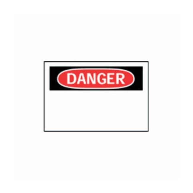 Brady™Laser and Ink Jet Sign Blanks: Danger