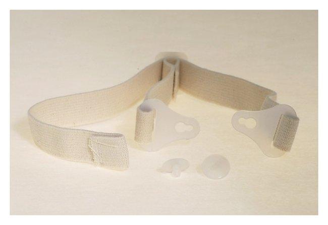 Bullard Tychem Respirator Hood Accessory, Elastic Chinstrap Elastic chinstrap;