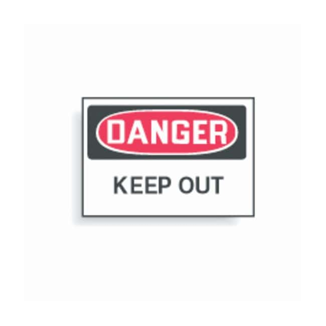 "Brady™ ""Danger: Keep Out"" Signs"