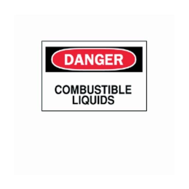 "Brady™""Danger: Combustible Liquids"" Signs"