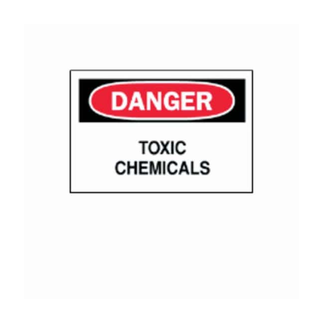"Brady™ ""Danger: Toxic Chemicals"" Signs"