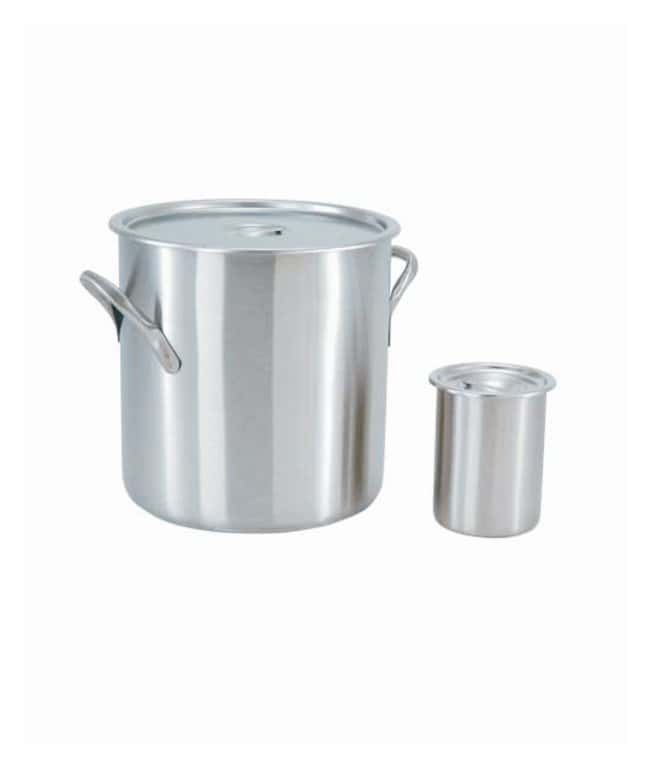 Medegen Lids for Stainless-Steel Lab Pots