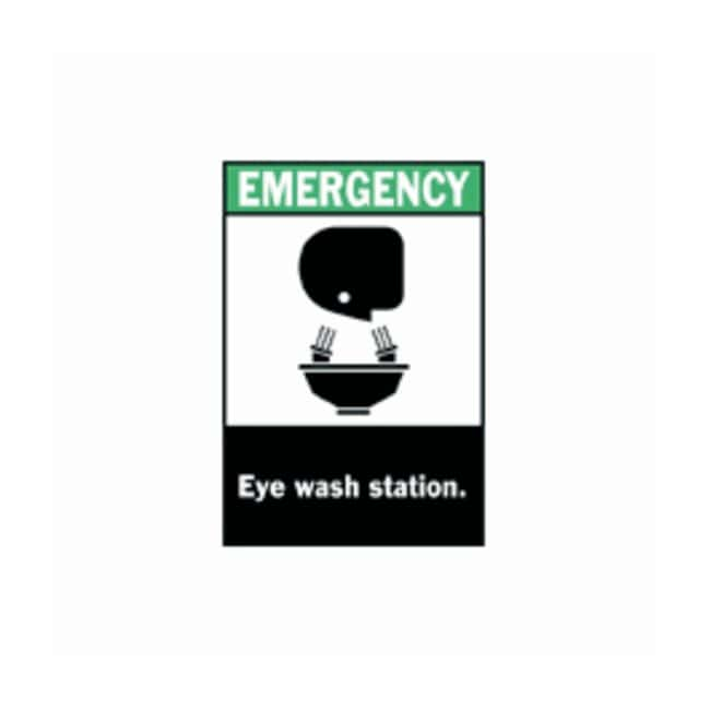 Brady™ ANSI Z535 Safety Signs: Eyewash Station