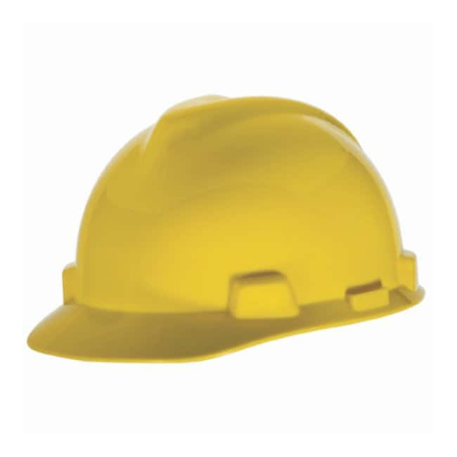 MSA™ V-Gard™ Slotted Protective Cap with Fas-Trac™ Suspension