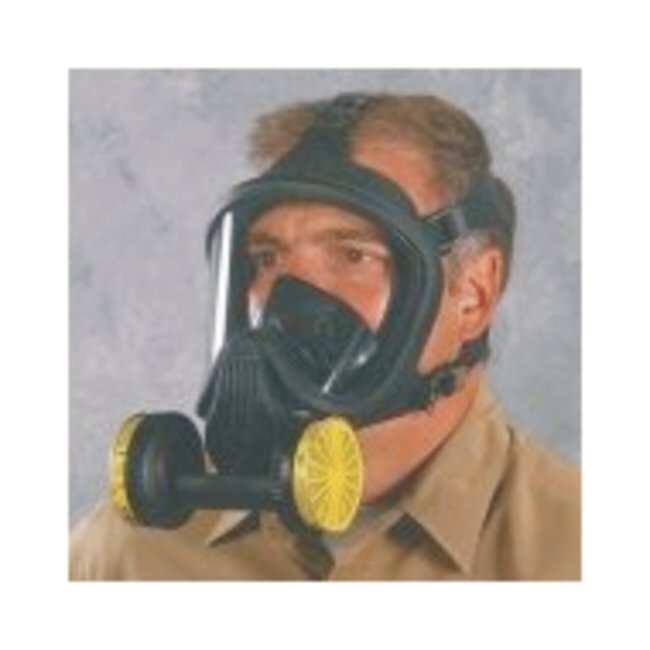 MSA Ultra Elite Twin Cartridge Full-Facepiece Respirators:Gloves, Glasses