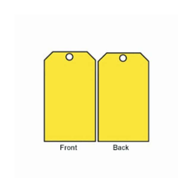Brady™Blank Accident Prevention Tags